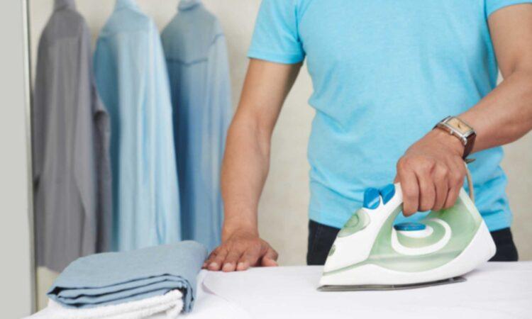 اتو کشیدن صحیح لباس